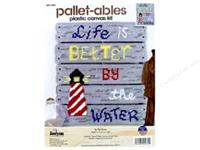 Janlynn Plastic Canvas Kit - Life Is Better By The Water