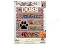 Janlynn Plastic Canvas Kit - Dogs Leave Pawprints