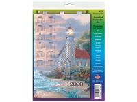 2020 Jeweled Calendar - Ocean Light