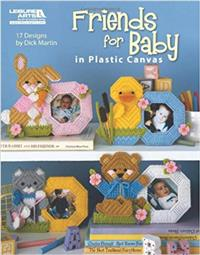 Friends for Baby in Plastic Canvas