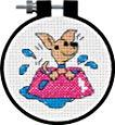 Perky Puppy - Counted Cross Stitch Kit