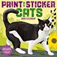 Paint by Sticker Cats 2020 Wall Calendar