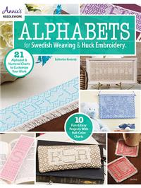 Alphabets for Swedish Weaving & Huck Embroidery