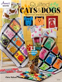 Quilted Cat & Dogs