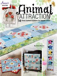 Animal Attaction Quilt Pattern Book