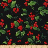 Happy Holly-Days Boughs of Holly Garland