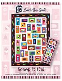 Lunch Box Quilts Scoop It Up Ice Cream Quilt
