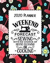 Weekend Forecast Sewing 2020 Planner