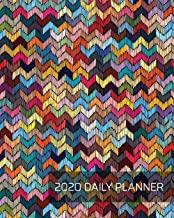 2020 Daily Planner: Crafty Cross Stitch Sewing Pattern