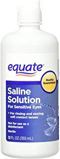 Equate Contact Lens Saline Solution