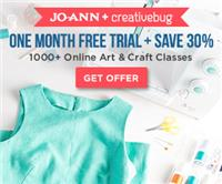 Joann + Creative Bug - Free Online Craft Video Classes