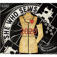 She Who Sews 2020 Wall Calendar
