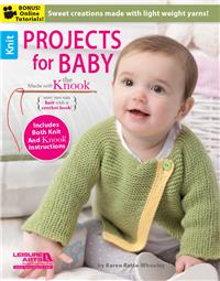 Projects for Baby Made with the Knook