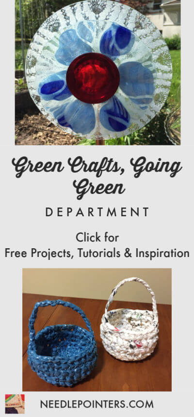 Green Crafts, Going Green Department Logo