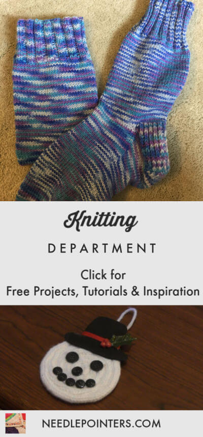 Knitting Department Logo
