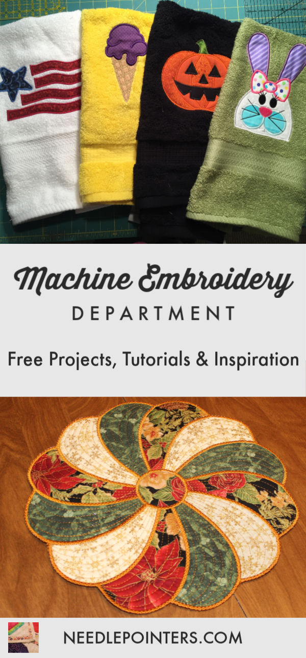 Machine Embroidery Department Logo