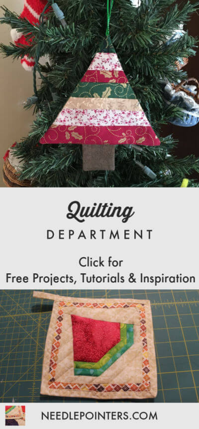 Quilting Department Logo