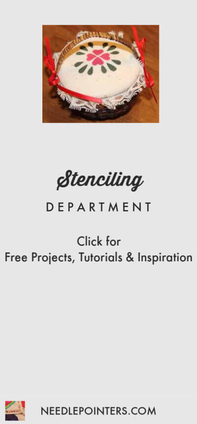 Stenciling Department Logo